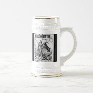 Caneca de cerveja da cerveja de cerveja preta