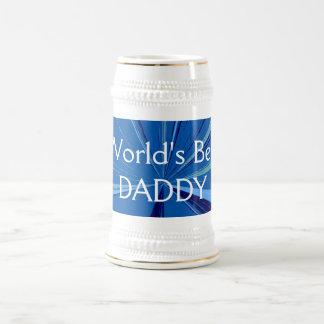 Caneca de cerveja da cerveja do pai dos mundos a