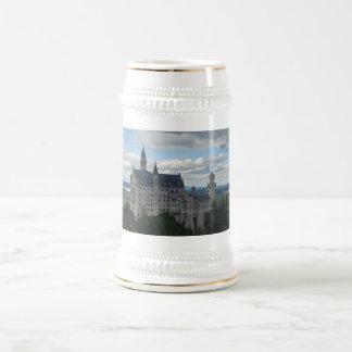 Caneca de cerveja de Schloss Neuschwanstein