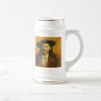 Caneca de cerveja de Wild Bill Hickok