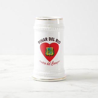 Caneca De Cerveja Dentro del Corazón Crista do Pinar del Rio -
