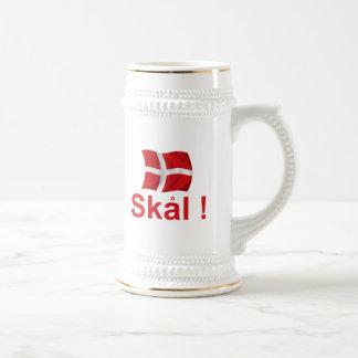 Caneca De Cerveja Dinamarca Skal!
