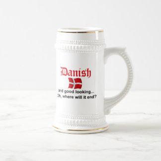 Caneca De Cerveja Dinamarquês bonito
