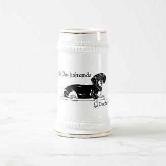 Caneca de cerveja do Dachshund