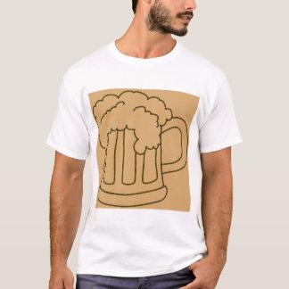 Caneca de cerveja do despedida de solteiro camiseta