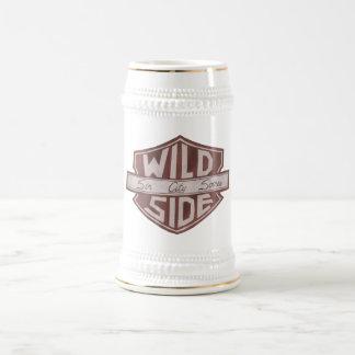 Caneca de cerveja do logotipo do protetor de VWS