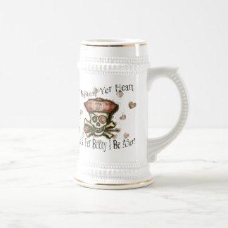 Caneca de cerveja do Sepia do pirata do dia dos
