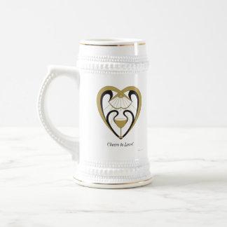 Caneca De Cerveja Elogios ao amor