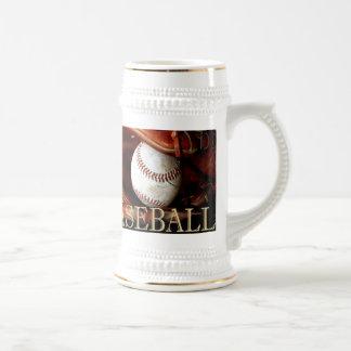 Caneca De Cerveja Esportes do basebol