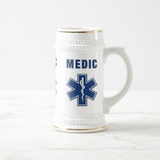 Caneca De Cerveja Estrela do médico da vida
