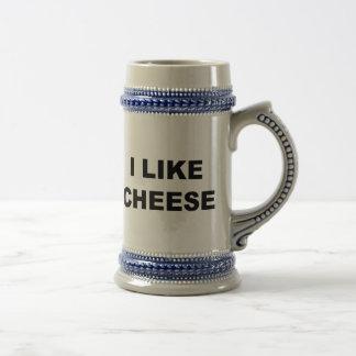 Caneca De Cerveja Eu gosto do queijo