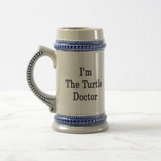 Caneca De Cerveja Eu sou o doutor da tartaruga