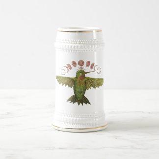 Caneca De Cerveja Fase da lua do colibri