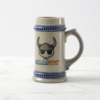 Caneca De Cerveja Frasco de Viking da vida da galáxia!