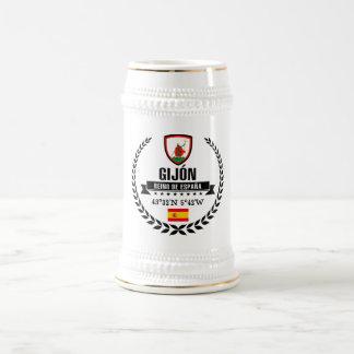 Caneca De Cerveja Gijón