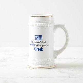 Caneca De Cerveja Grego humilde