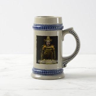 Caneca De Cerveja Guerreiro japonês do samurai - introduza SUA foto