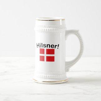 Caneca De Cerveja Hilsner! (Cumprimentos!)