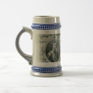 Caneca De Cerveja Império 1912 de russo 500 rublos de conta com Tzar