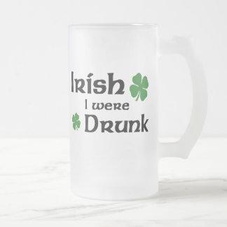 Caneca de cerveja irlandesa