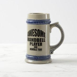Caneca De Cerveja Jogador impressionante do Handbell