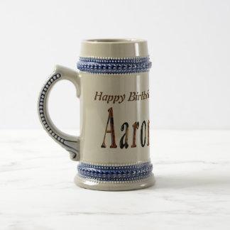 Caneca De Cerveja Logotipo conhecido dos meninos de Aaron,
