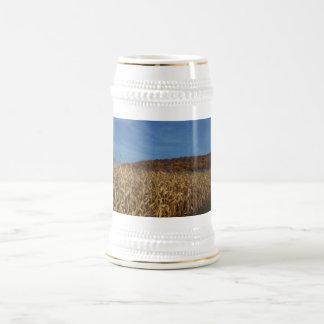 Caneca De Cerveja Lua do milho e do céu azul