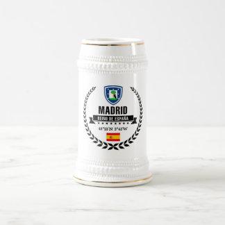Caneca De Cerveja Madrid