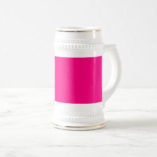 Caneca De Cerveja Negócio   do rosa quente da cor da Web do código