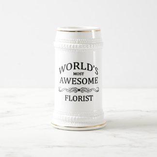 Caneca De Cerveja O florista o mais impressionante do mundo