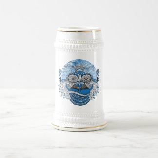 Caneca De Cerveja O macaco é, porque o macaco bebe