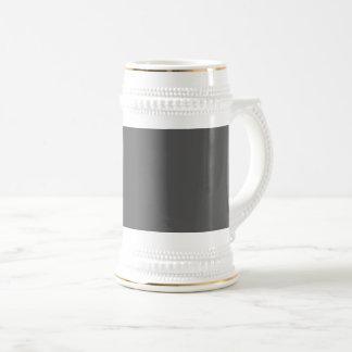 Caneca De Cerveja Obscuridade da cor da Web do código do Hex #555555