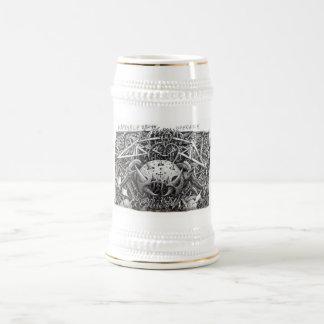 Caneca De Cerveja Operador da morte do Mandible, por Brian Benson,