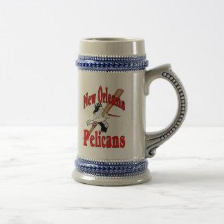 Caneca De Cerveja Pelicanos do clube de basebol de Nova Orleães