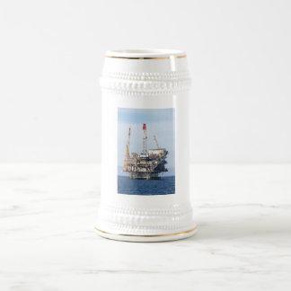 Caneca De Cerveja Plataforma petrolífera