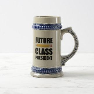 Caneca De Cerveja Presidente futuro da classe