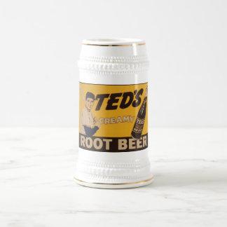 Caneca De Cerveja Refrigerante root beer cremoso de Teds