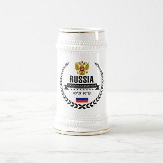 Caneca De Cerveja Rússia