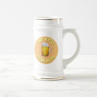 Caneca De Cerveja Salvar a água - cerveja da bebida