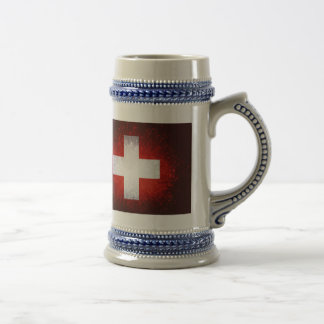 Caneca De Cerveja Schweiz; Bandeira da suiça