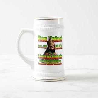 Caneca De Cerveja seu imperador imperial Haile Selassie da majestade