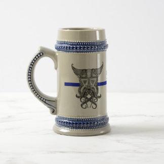 Caneca De Cerveja Skal Viking - Blue Line fino