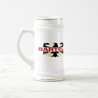 Caneca De Cerveja Sobrenome de Bartels
