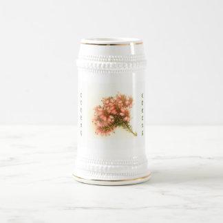 Caneca De Cerveja Sprigs da urze