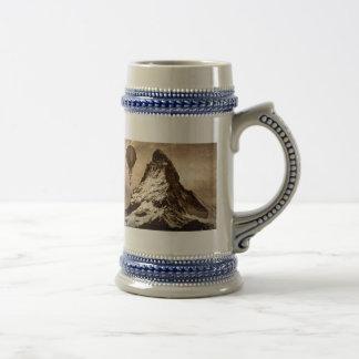 Caneca De Cerveja Steampunk Matterhorn