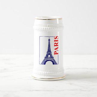 Caneca De Cerveja Torre de Paris-Eiffel