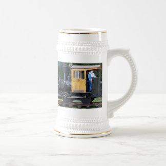 Caneca De Cerveja Trem do vapor
