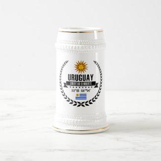 Caneca De Cerveja Uruguai