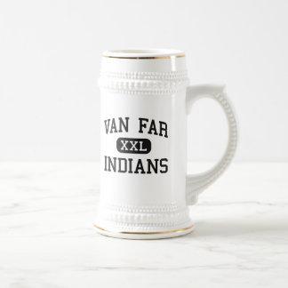 Caneca De Cerveja Van Distante - indianos - alto - Vandalia Missouri