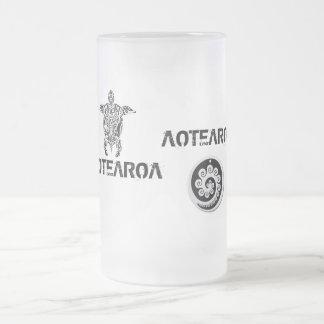 Caneca De Cerveja Vidro Jateado Copo de Nova Zelândia do quivi de AOTEAROA
